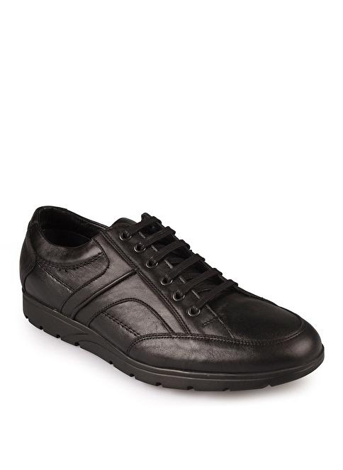 Matraş Bağcıklı Ayakkabı Siyah